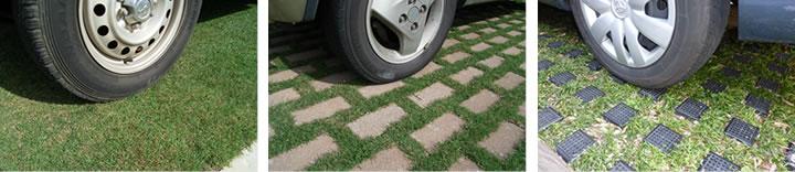 駐車場緑化のイメージ画像