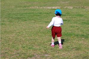 校庭・園庭の芝生化のイメージ画像