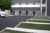 駐車場緑化用システム GreenTechnoParking施工事例