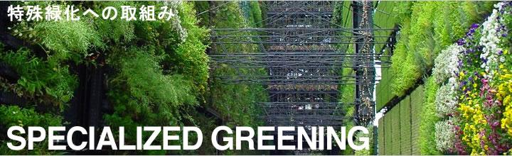 特殊緑化への取組み